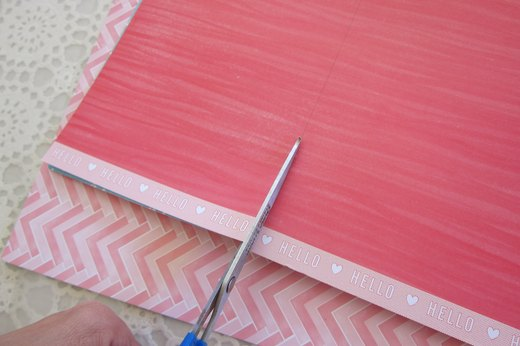 Cut Cardstock to Size