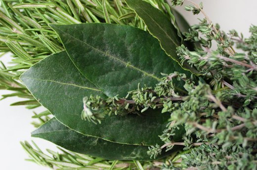 Tie the Bay Leaves to the Wreath