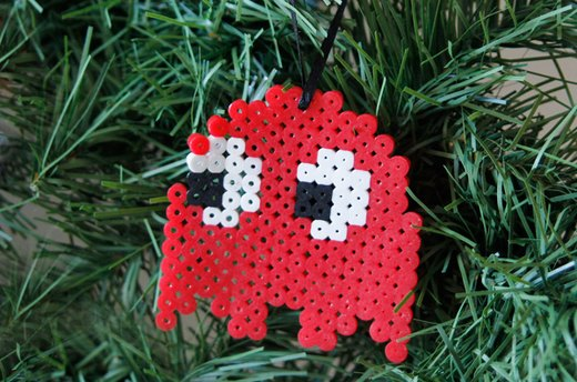 How to Make Perler Bead Ornaments