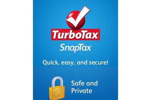 TurboTax SnapTax (iOS, Android; free)