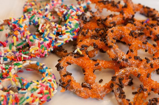 Keep a Stock of Chocolate-Covered Pretzels