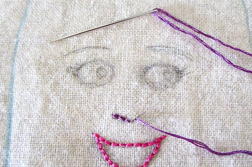 Embroider Remaining Features