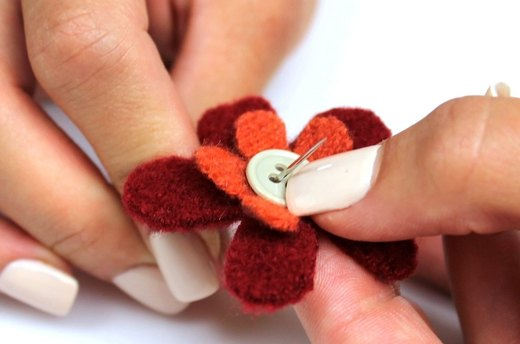 Sew Flowers Together