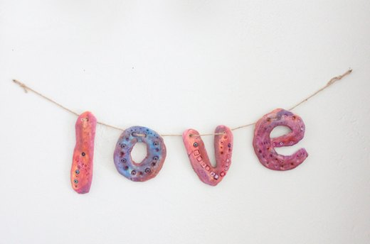 Salt Dough Banner