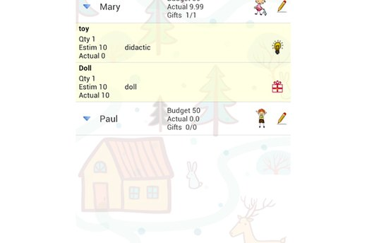 Christmas Gift List (Android)