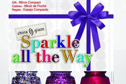 China Glaze Sparkle All the Way Nail Set, $22.50