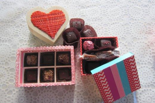 Beautiful Packaging Ideas for Homemade Chocolates