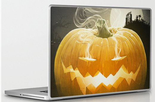 Skin Your Laptop With Pumpkin I