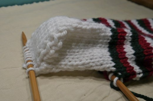 Knit the Bottom of the Heel