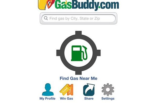 GasBuddy (iOS, Android, BlackBerry, Windows Phone; free)