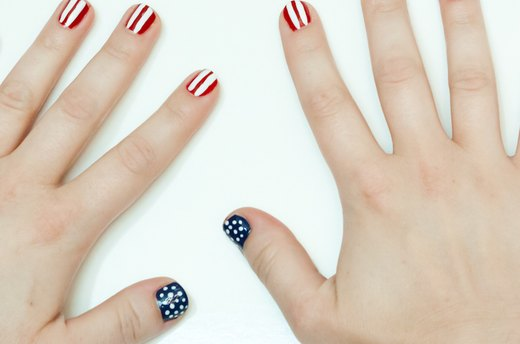 Paint Yourself Patriotic: Red, White & Blue Nails