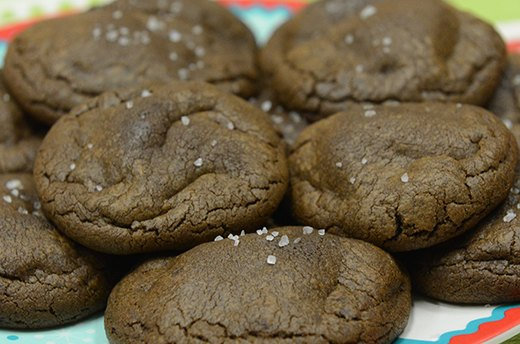 Christmas Coal Cookies