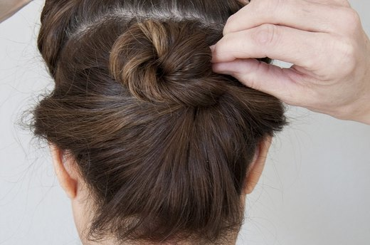 Look #1: Effortless, Voluminous Updo