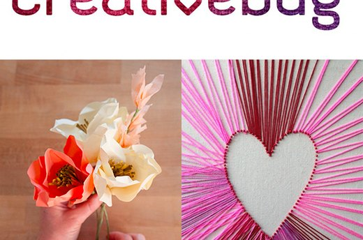 Get Crafty with Free Projects from Creativebug