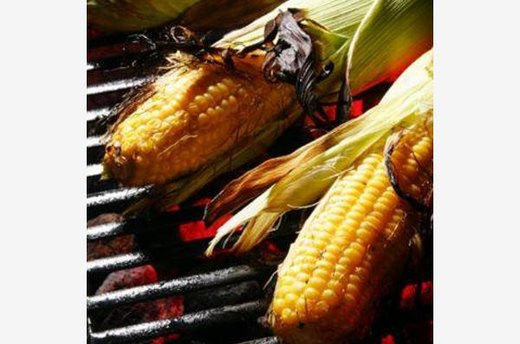 Grilled Corn and Garlic Butter