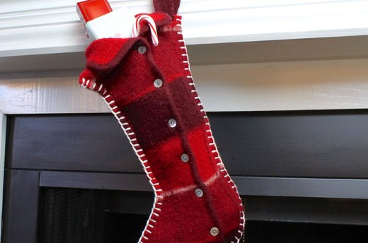 How to Make a Felted Wool Stocking