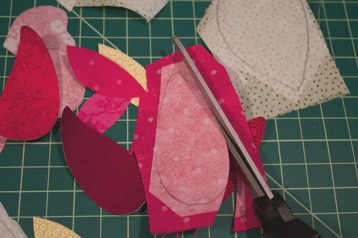 Cut out the Fabric Pattern Pieces