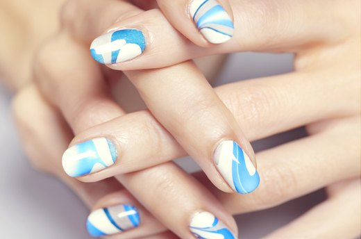 Marbled Nails