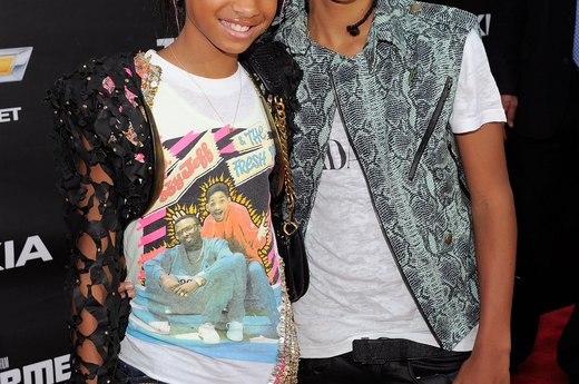 $5 million: Jaden Smith, 13 ; 4 million: Willow Smith, 10
