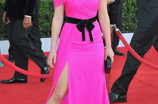 Worst: Jennifer Lawrence's 80s Prom-Dress at the SAG Awards