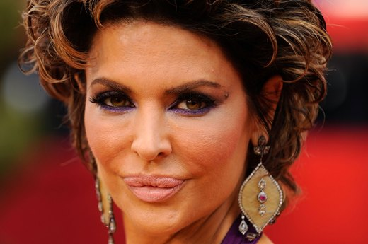 Lisa Rinna Wigs Out at the 2009 Oscars