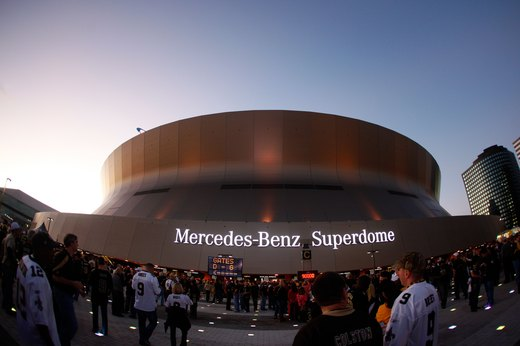 The Superdome and City Center