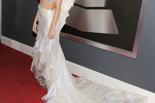 Worst: Katy Perry's Winged Gown