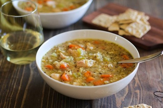 Slow Cooker Chicken and Rice Soup Recipe