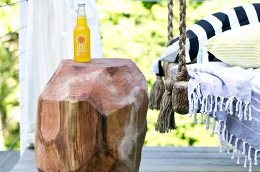 Get Woodsy with Your Side Table