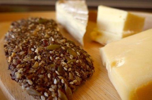 Healthy Seed & Nut Crispbread (Gluten Free)