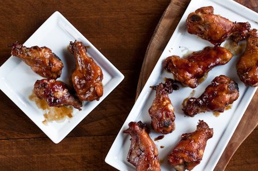 Hoisin Stout Chicken Wings