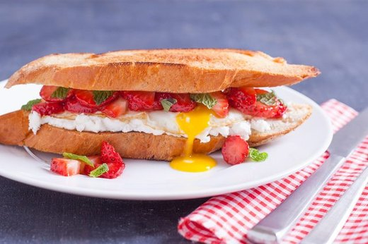 3 - Fried Egg Sandwich