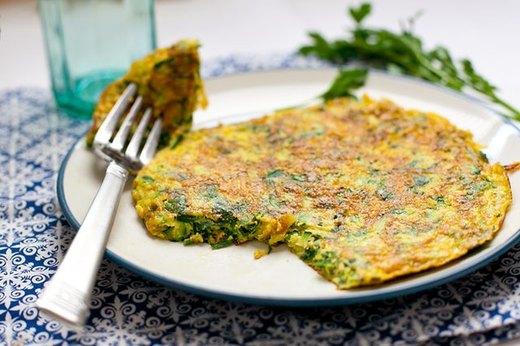 2 - Herb and Zucchini Frittata