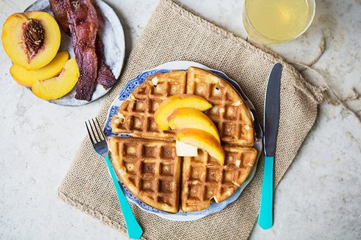 Easy Instant Waffles
