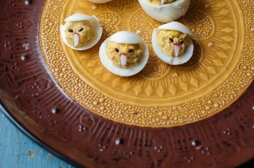 9 - Chicken Deviled Eggs