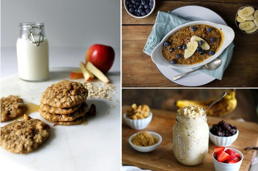 7 Recipes Using Oatmeal as a Main Ingredient