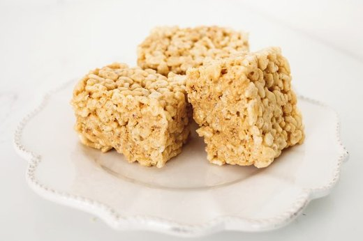 Soft and Chewy Rice Krispie Treats