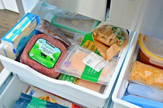 Place Like Items Together in the Freezer