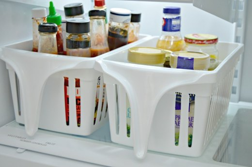 Place All Sauces and Salad Dressings in Bins