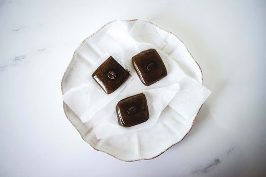 9. Homemade Coffee Caramels Recipe