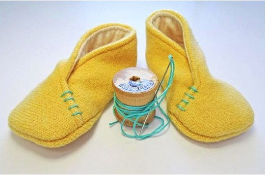 Craft an Adorable Pair of Baby Slippers