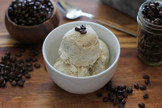 17. No-Churn, Five Ingredient Coffee Ice Cream