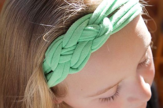 Make Headbands Out of Shirts