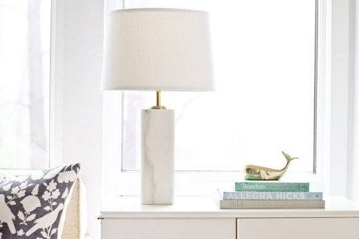 Marvel at a Marble Table Lamp