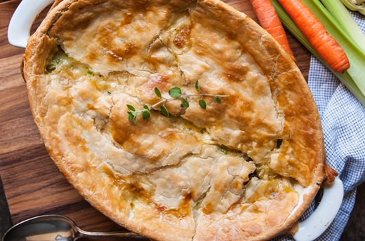 9. Chicken Pot Pie