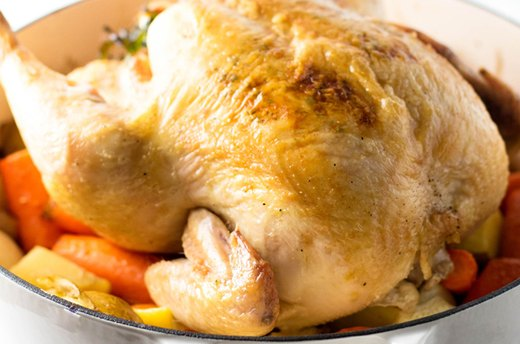 1. Whole Roast Chicken