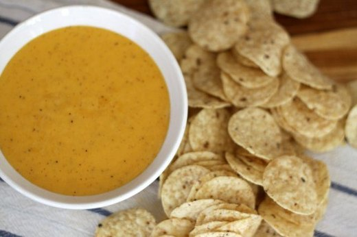 7. Homemade Nacho Cheese Dip
