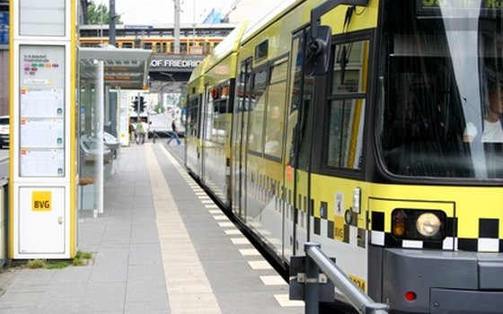 Modern trains, subways and trams are a convenient way to travel in Germany.