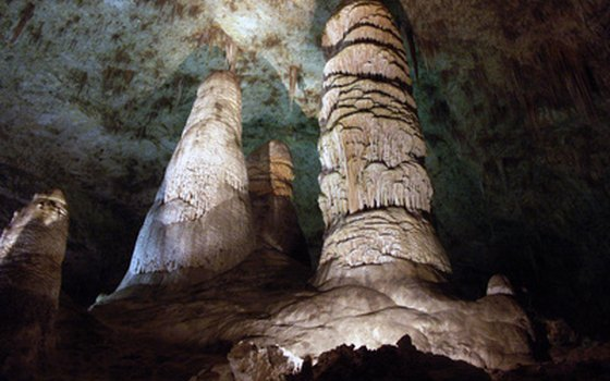 This cave chamber, the Big Room, is the third-largest chamber of its type in North America.