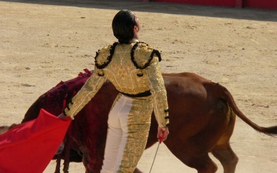 Bullfighting in Pamplona